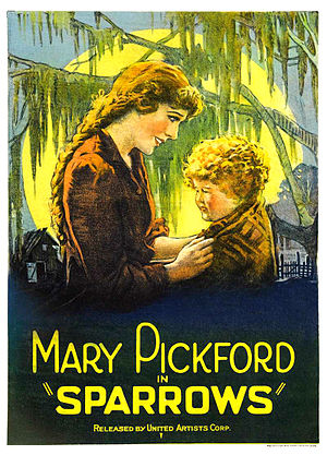 Sparrows (1926 film) - theatrical release poster