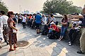 Spectators of PRC70 at Ming City Wall Relics Park (20191001095139).jpg