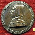 Sperandio savelli, medaglia di fra cesario contughi, servita di ferrara.JPG