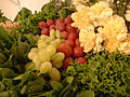 Spinach, grapes, curly leaf, flowers, DSCF2184.jpg