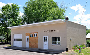 Spray City Hall in 2011