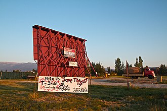 National Register of Historic Places listings in Teton County, Idaho - Image: Spud Drive In From Highway 33