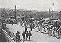 Städtische Straßenbahnen Wien 1903–1913 (page 49 crop) – Beförderung von Schulkindern zur Kaiserhuldigung 1908.jpg