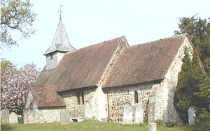 Pyrford - St Nicholas Church – Click to enlarge