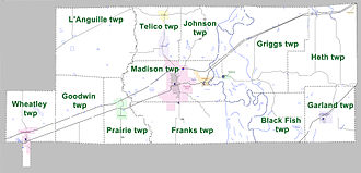 St. Francis County, Arkansas - Townships in St. Francis County, Arkansas as of 2010