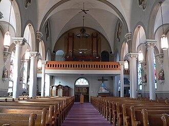 Hinners Organ Company - 1916 Hinners Organ at St. Leonard Catholic Church, Madison, Nebraska