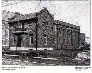 Thekla M. Bernays - St. Louis Artist's Guild building