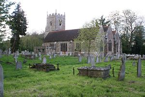St Nicolas' Church, North Stoneham - Image: St. Nicolas Church 1