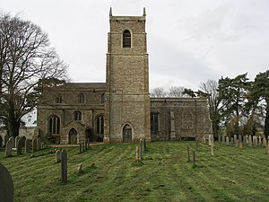 Harrington, Northamptonshire - Image: St. Peter and St. Paul Church at Harrington. geograph.org.uk 363432
