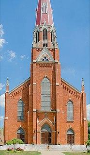 Saint Michael the Archangel Church (Monroe, Michigan) Church in Michigan, United States