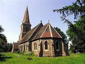 Arborfield - Image: St Bartholomews, Arborfield geograph.org.uk 17640