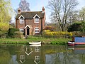 St Catherines Lock Cottage, River Wey Navigation - geograph.org.uk - 1218650.jpg