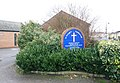 St George's Church, Coleman Road, London SE5 - Notice board - geograph.org.uk - 1720683.jpg