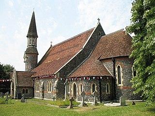 High Wych village in Hertfordshire