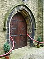 St John's Church, Warley, Doorway - geograph.org.uk - 1009293.jpg