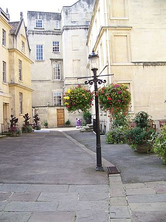 St John's Hospital, Bath - The Courtyard