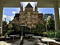 St John's Cathedral seen from Hobbs Park at level 4 of 480 Queen Street, Brisbane.jpg