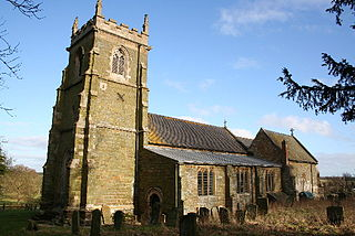 South Ormsby village in United Kingdom