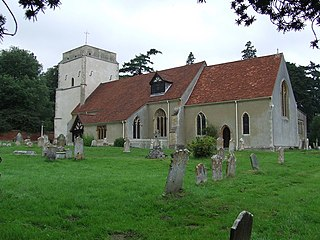 Nacton village in the United Kingdom