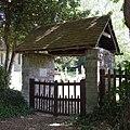 St Mary's Church, Hound Road, Hound (NHLE Code 1322693) (May 2019) (Lychgate) (1).JPG
