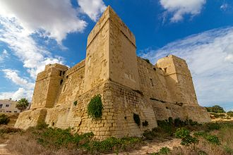 Watchtower - Saint Thomas Tower in Marsaskala, Malta