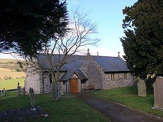 Bryneglwys - Image: St Tysilio Church, Bryneglwys geograph.org.uk 127790