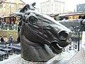 Stables Market horse's head sculpture - geograph.org.uk - 1712747.jpg