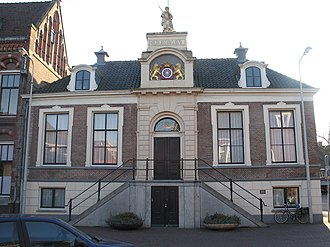 Wageningen - Town hall of Wageningen