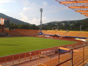 Stadionul Ceahlăul - Image: Stadionul Ceahlăul tribune (3)