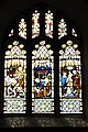 Stained glass at All Saints church, Ulcombe.jpg