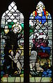 Stained glass window at Church of St. Martin, Ellisfield.JPG