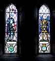 Stained glass windows, St Gregory's, Kirknewton - geograph.org.uk - 1741751.jpg