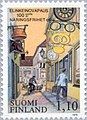 Stamp of Finland - 1979 - Colnect 46886 - Shopping Street.jpeg