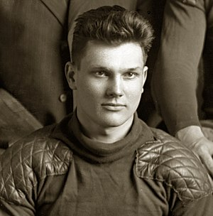 1909 Michigan Wolverines football team - Stanley Borleske scored two touchdowns against Syracuse and broke his collar bone the next week against Notre Dame.