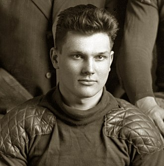 Stanley Borleske - Borleske cropped from 1910 Michigan football team photograph