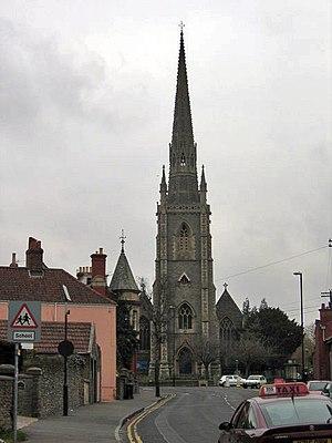 Church of Holy Trinity, Stapleton - Image: Stapletonchurch
