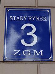 Przykładowa tabliczka adresowa