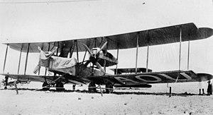 1919 England to Australia flight - The winning Vickers Vimy, 1919