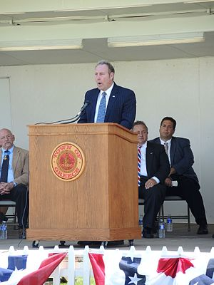 Joseph Robach - Image: State Senator Joe Robach Speaking At Greece New York Memorial Day Ceremony