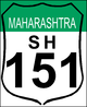 State Highway 151 shield}}
