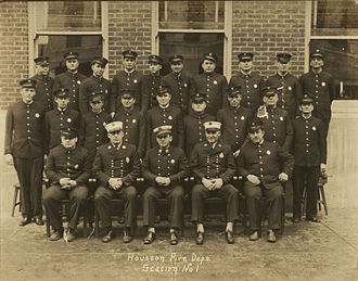 Houston Fire Department - Image: Station One 1932
