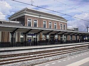 Apeldoorn railway station - Apeldoorn railway station in 2010