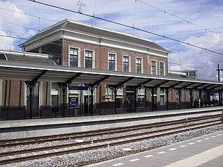 Apeldoorn railway station railway station