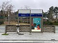 Station Tramway IdF Ligne 6 Dewoitine - Vélizy-Villacoublay (FR78) - 2021-01-03 - 1.jpg