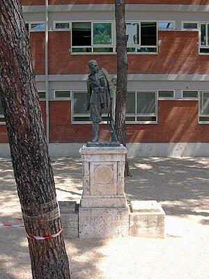 Enrico Toti - Statue of Enrico Toti in Rome.