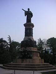 Monument to Dante in Trento