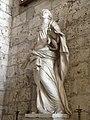 Statue Sainte-Cécile - chapelle Saint-Nicolas, cathédrale de Rouen.jpg