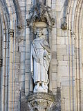Statue of Robert Guiscard on Coutances Cathedral