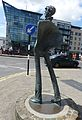 Statue des Schriftstellers William Butler Yeats.JPG