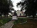 Statue of Taras Shevchenko in Shevchenkove, Shevchenkove Raion 2019 by Venzz 01.jpg